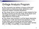 grillage analysis program8