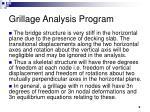 grillage analysis program9