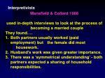 interpretivists28