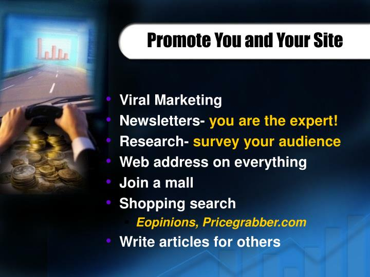 Promote You and Your Site