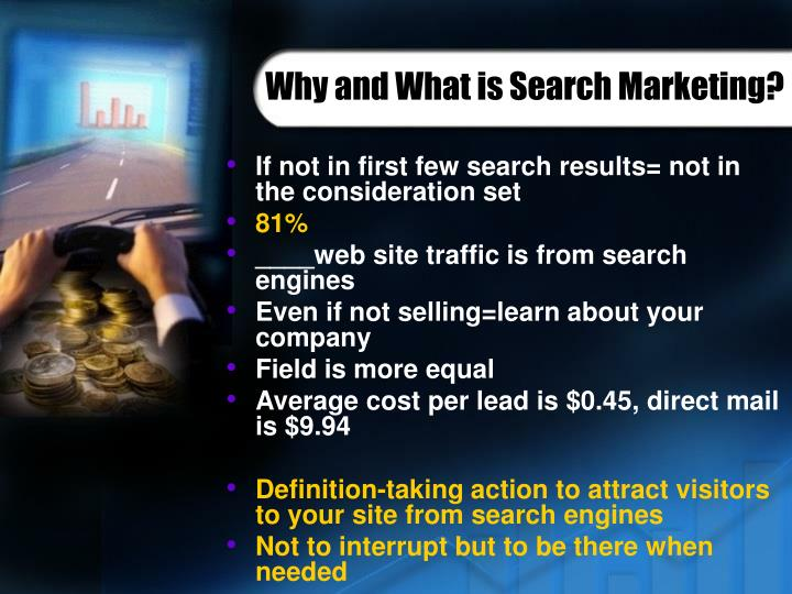 Why and What is Search Marketing?