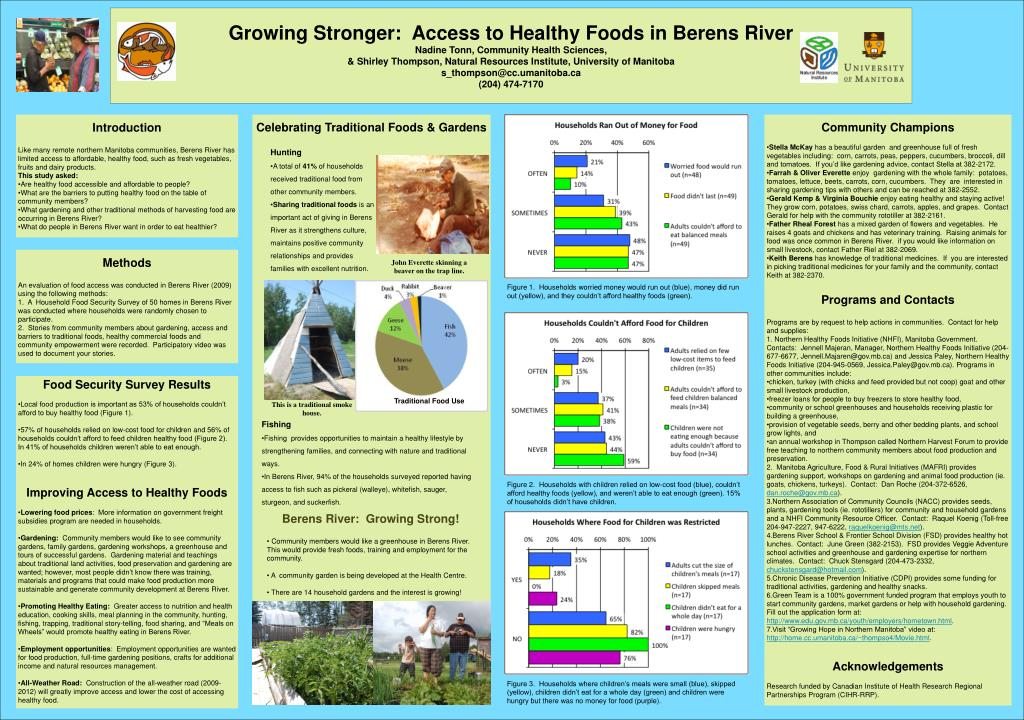 Growing Stronger:  Access to Healthy Foods in Berens River