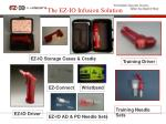 the ez io infusion solution