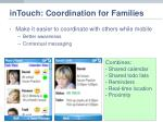 intouch coordination for families9