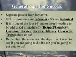 general tips for success42