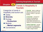 trends in hospitality tourism