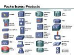 packet icons products