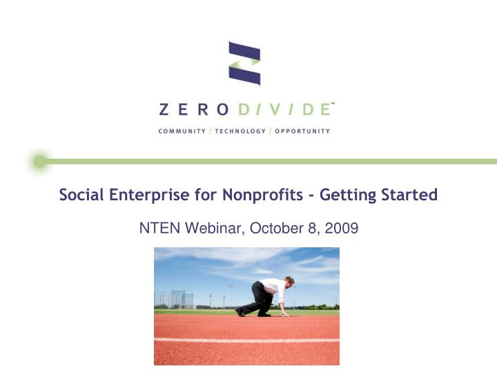Social enterprise for nonprofits getting started