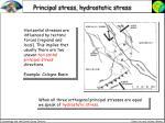 principal stress hydrostatic stress