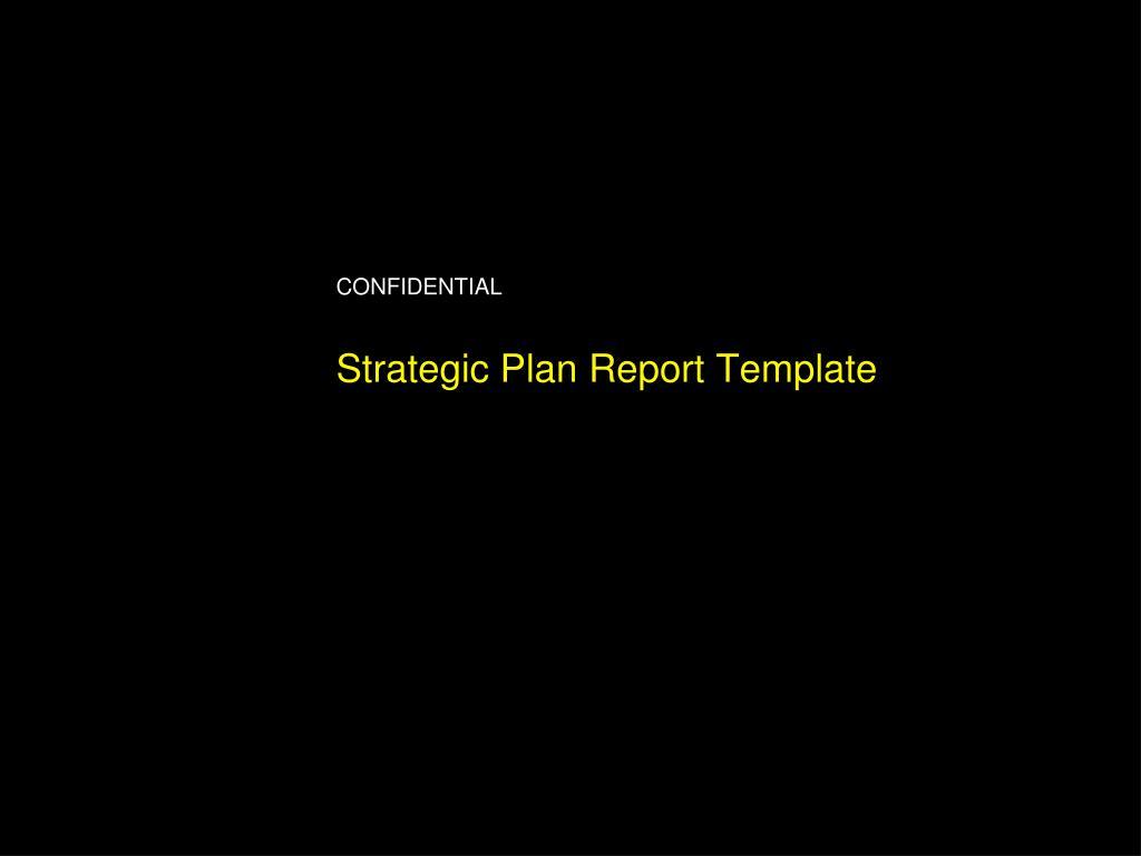 strategic plan report template l.
