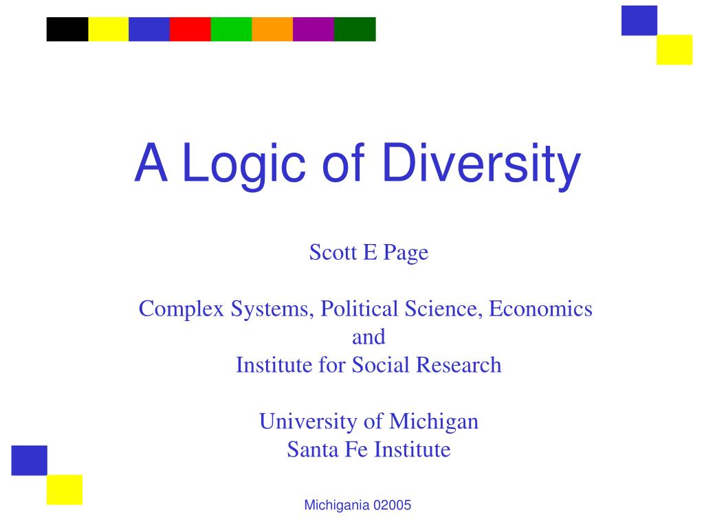 a logic of diversity l.
