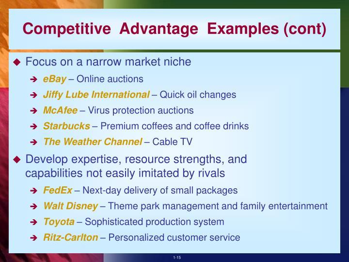 fedex competitive advantage