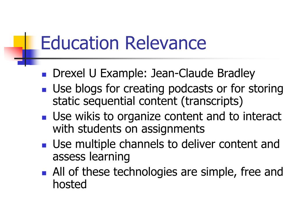 Education Relevance