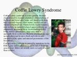 coffin lowry syndrome