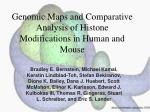 genomic maps and comparative analysis of histone modifications in human and mouse