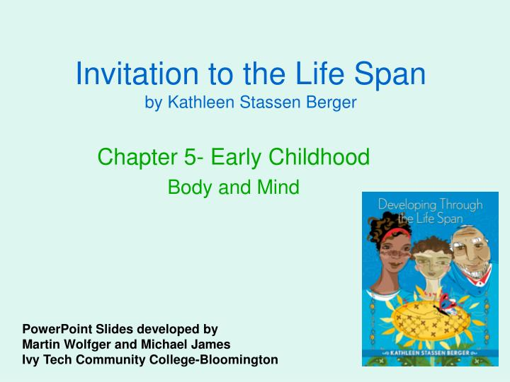 invitation to the life span by kathleen stassen berger n.