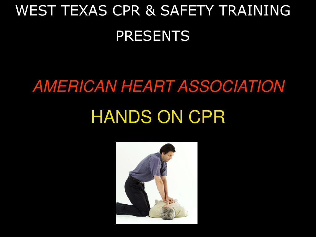 american heart association hands on cpr l.