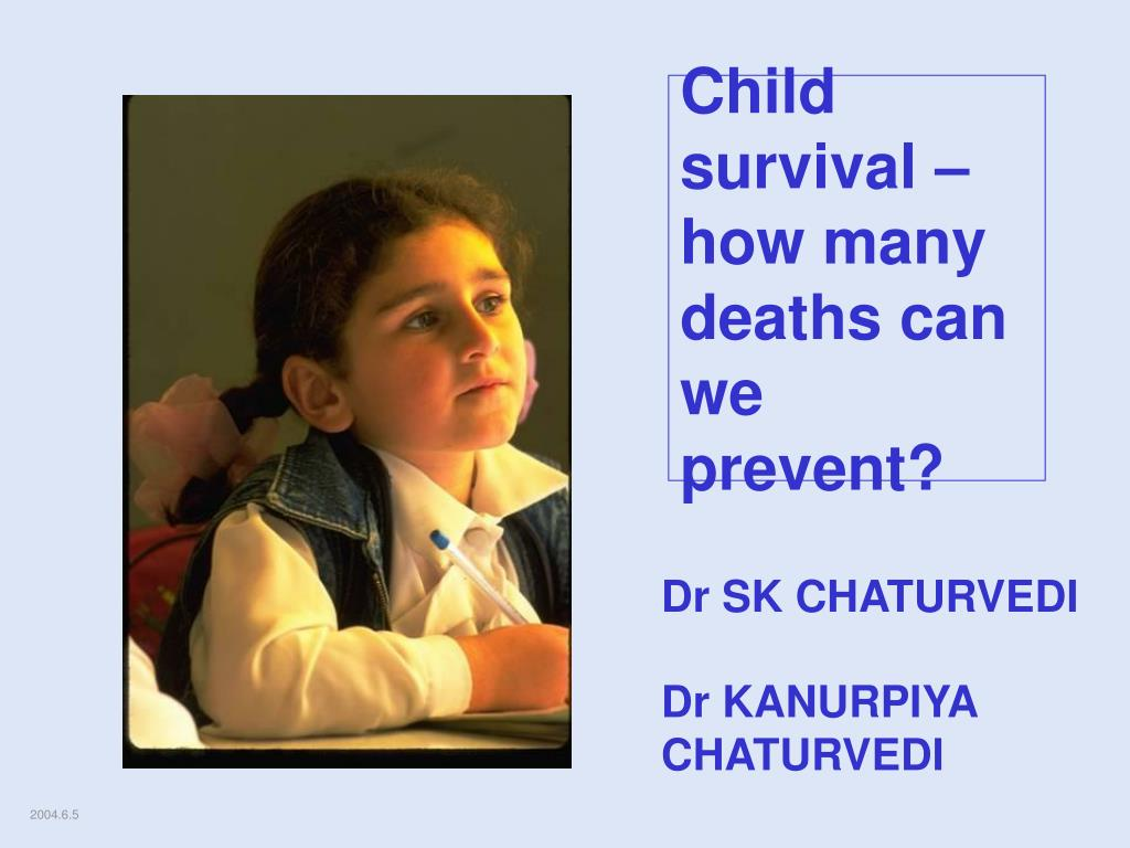 child survival how many deaths can we prevent l.