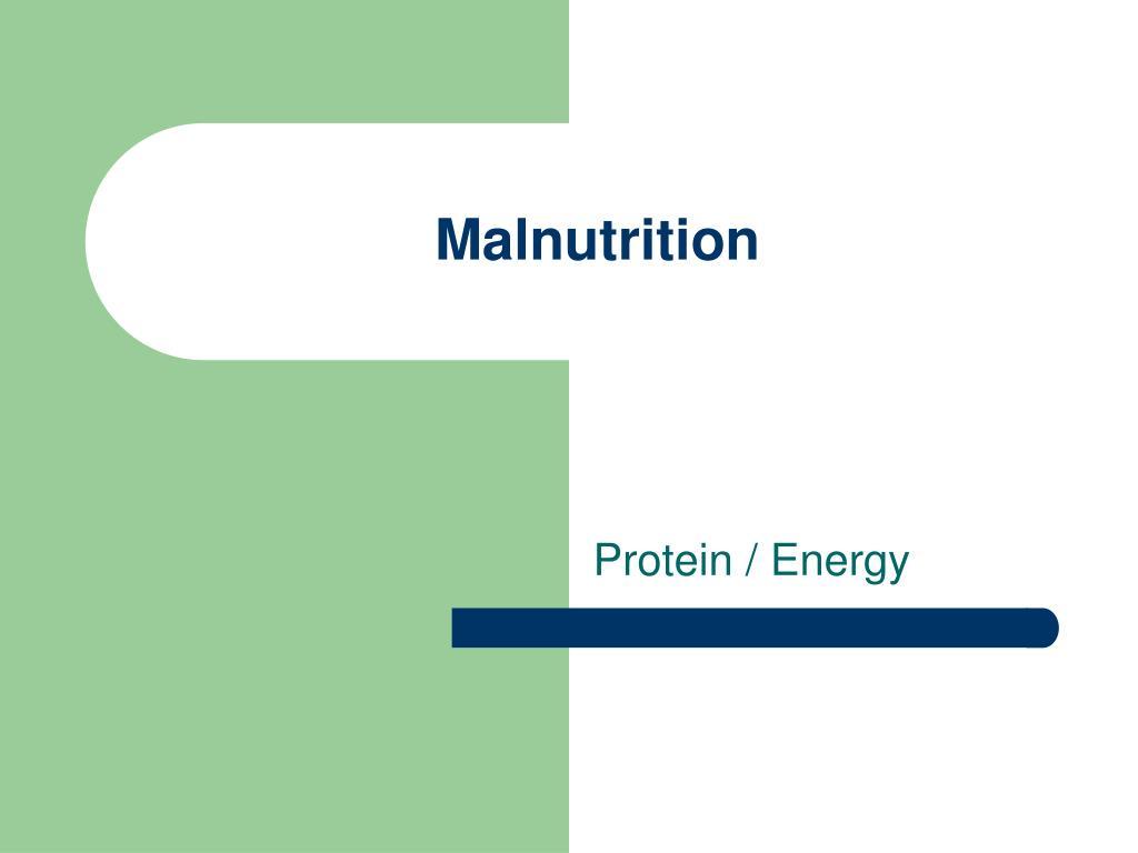 malnutrition l.