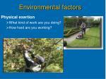 environmental factors12