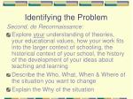 identifying the problem6