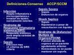 definiciones consenso accp sccm