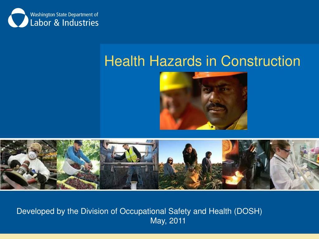health hazards in construction l.