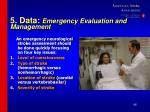 5 data emergency evaluation and management46
