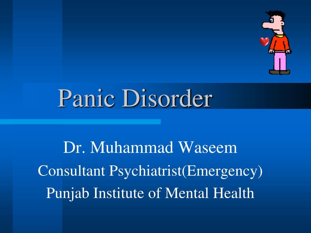 panic disorder l.