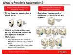 what is parallels automation