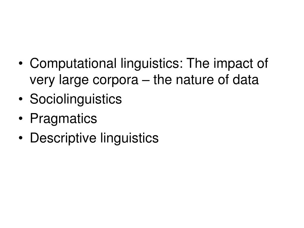 the scope of sociolinguistics