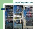oxnard remote labs
