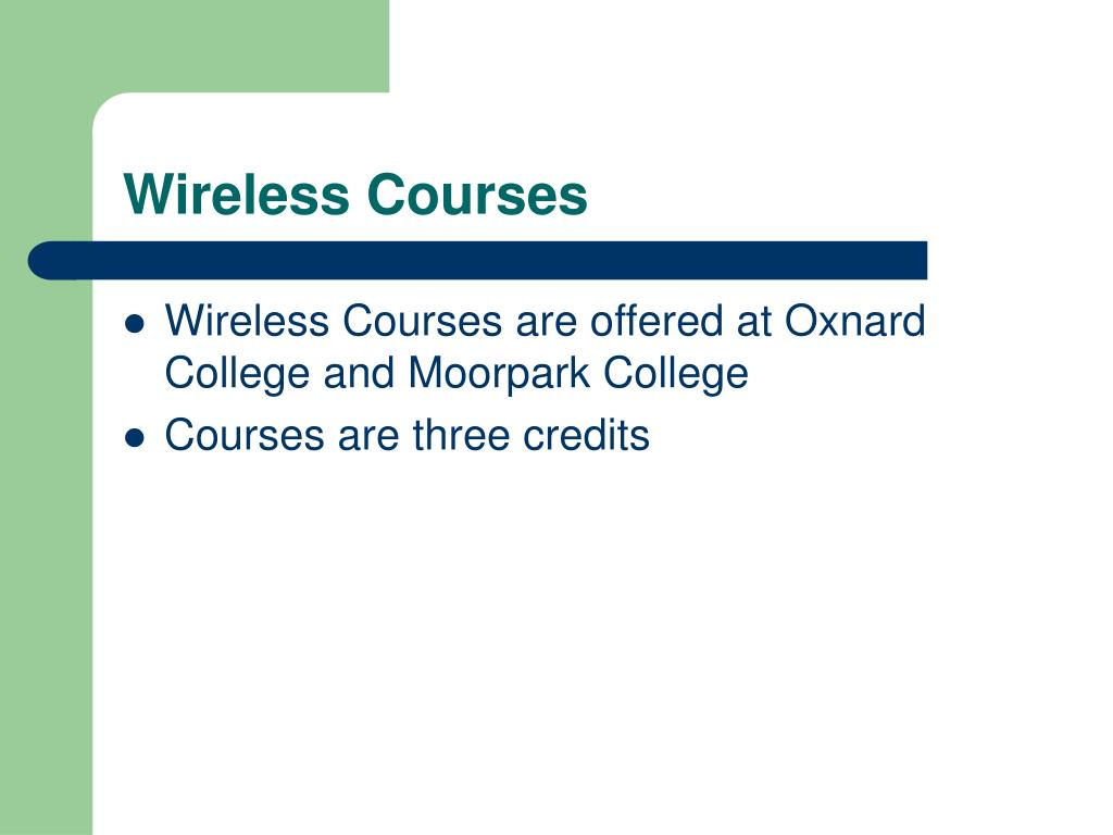 Wireless Courses