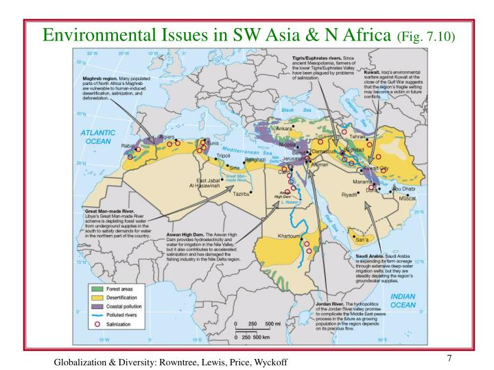 soil and irrigation in north africa and southwest asia Assessing desertification and water harvesting in the middle east and north africa:  which have included soil scientists,.