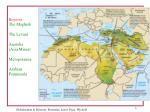 regions the maghreb the levant anatolia asia minor mesopotamia arabian penninsula