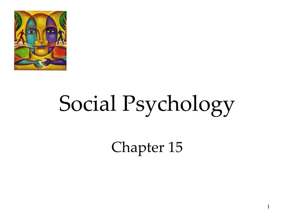 social psychology chapter 15 l.