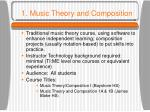 1 music theory and composition