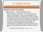 4 digital audio16