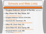 schools and web links