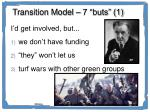 transition model 7 buts 1