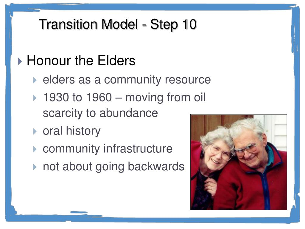 Transition Model - Step 10
