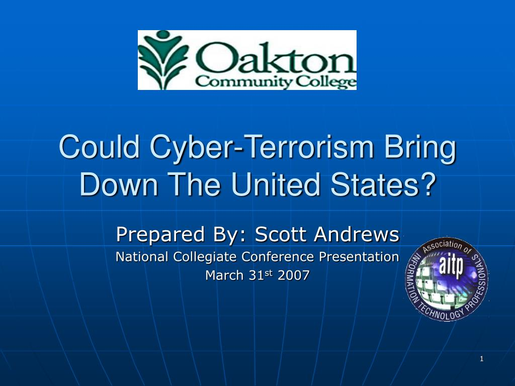 could cyber terrorism bring down the united states l.