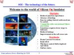 soi the technology of the future