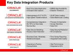 key data integration products