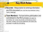 key rca roles23