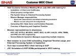 customer moc client