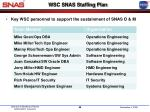 wsc snas staffing plan