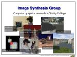 image synthesis group