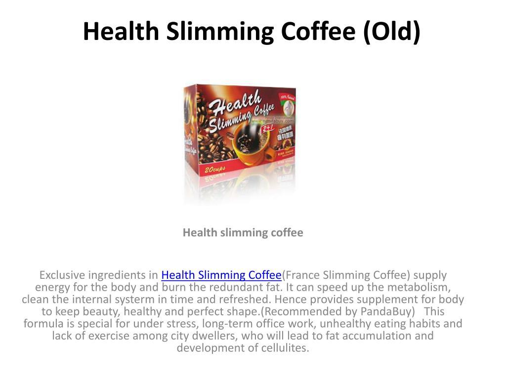 health slimming coffee old l.