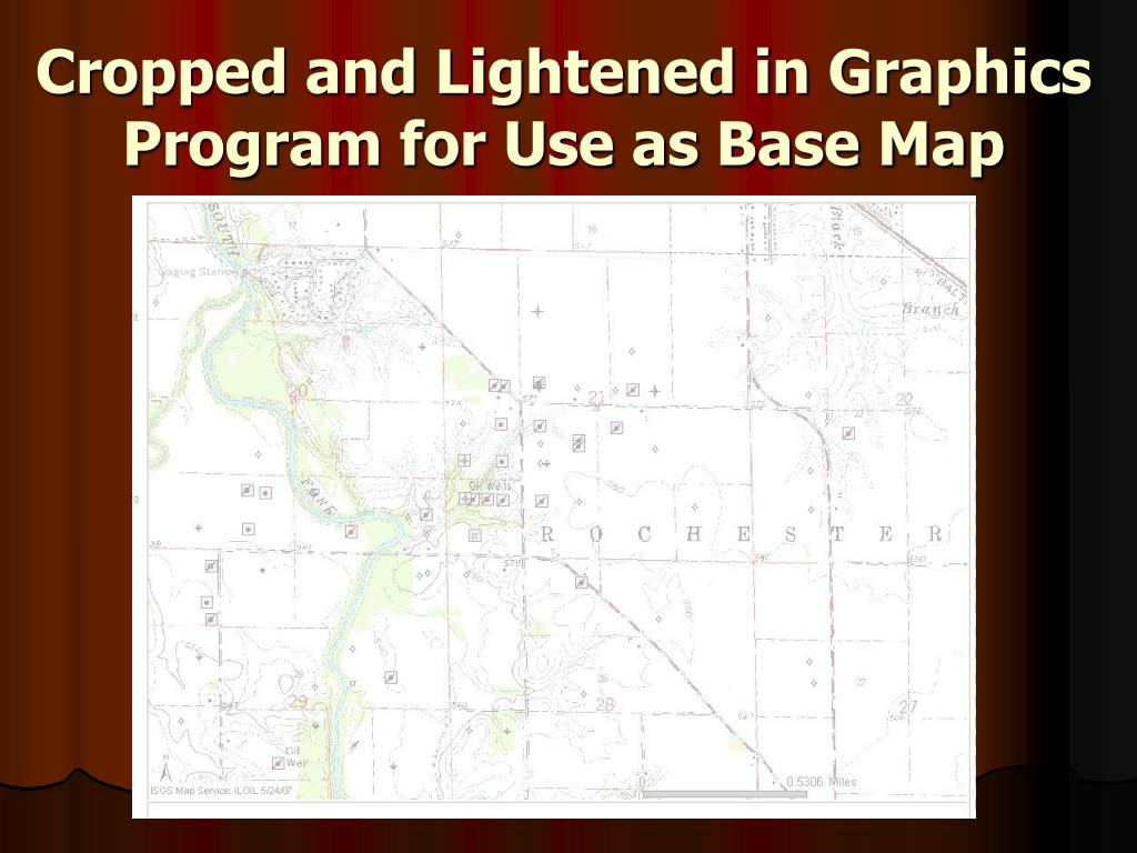 Cropped and Lightened in Graphics Program for Use as Base Map